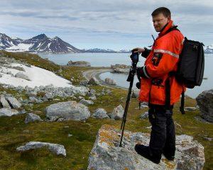 David in Svalbard